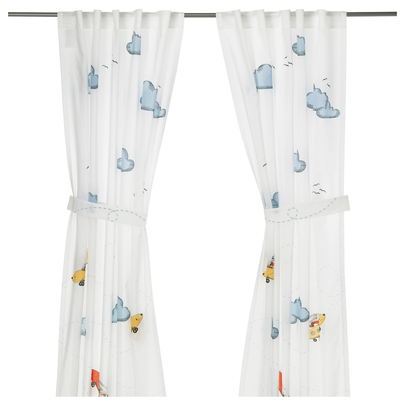 childrens curtains drapes ikea ireland. Black Bedroom Furniture Sets. Home Design Ideas