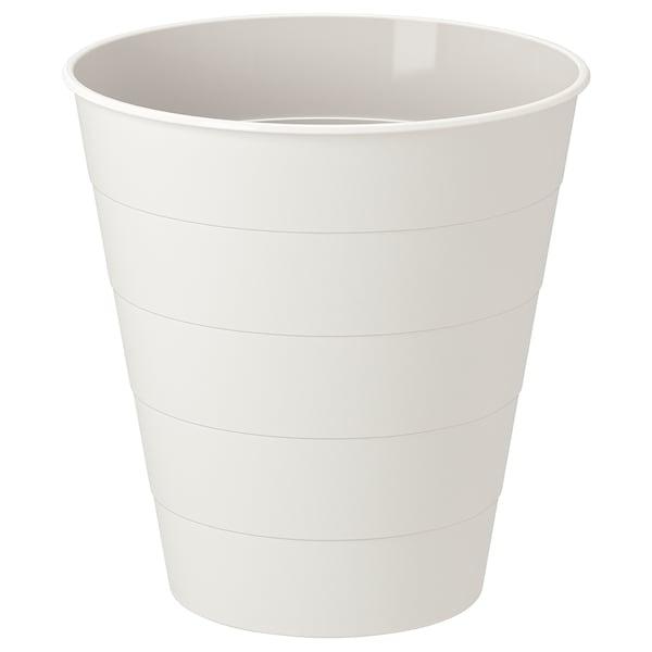 FNISS Waste bin, white, 10 l