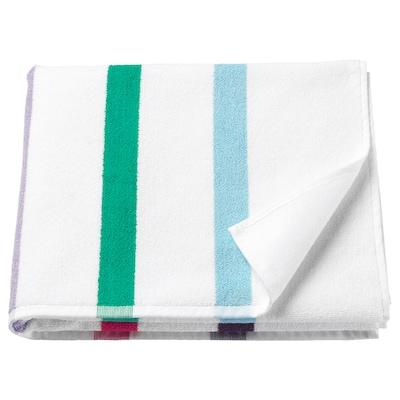 FOSKÅN bath towel multicolour 500 g/m² 140 cm 70 cm 0.98 m²