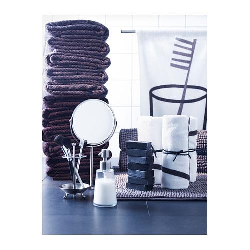 Fr jen bath towel grey 70x140 cm ikea for Table 70x140