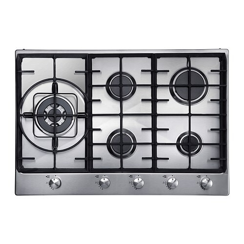 FRAMTID HGA5K Gas hob IKEA 5 year guarantee.   Read about the terms in the guarantee brochure.
