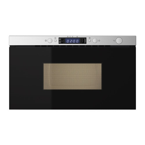 IKEA FRAMTID microwave oven 5 year guarantee. Read about the terms in the guarantee brochure.