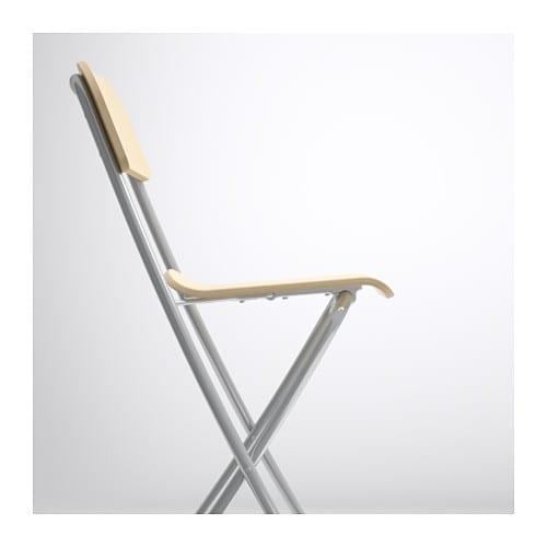 franklin bar stool with backrest foldable birch veneer