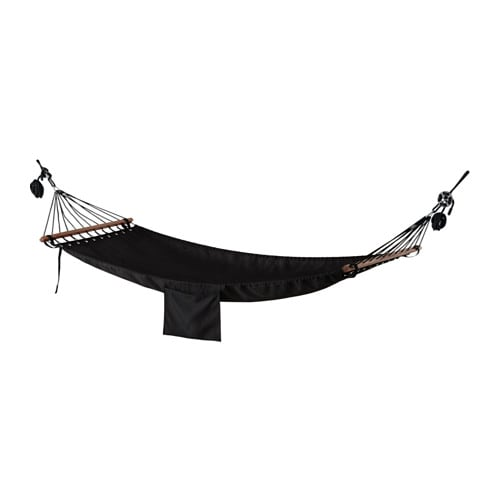 IKEA FREDÖN hammock Easy to hang up with the included hooks, no need to tie knots.