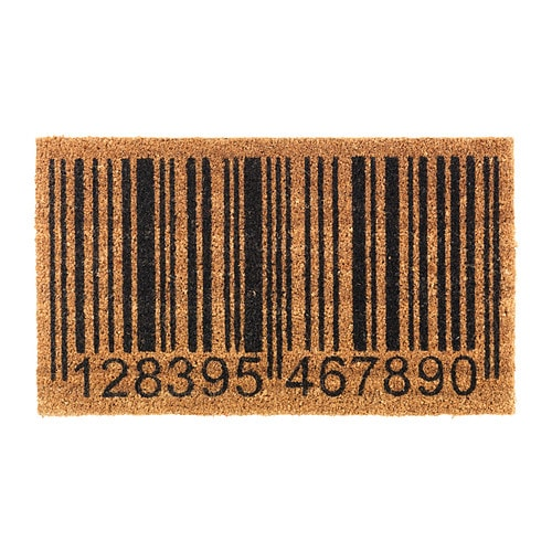IKEA FREJLEV door mat Easy to keep clean - just vacuum or shake the rug.