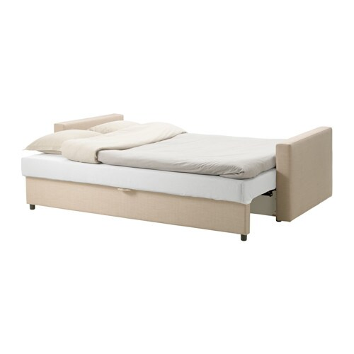 Ikea Grundtal Double Towel Rail ~ IKEA FRIHETEN three seat sofa bed Readily converts into a bed