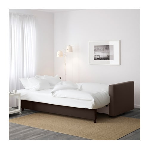Ikea Drawers Gumtree Melbourne ~ IKEA FRIHETEN three seat sofa bed Readily converts into a bed