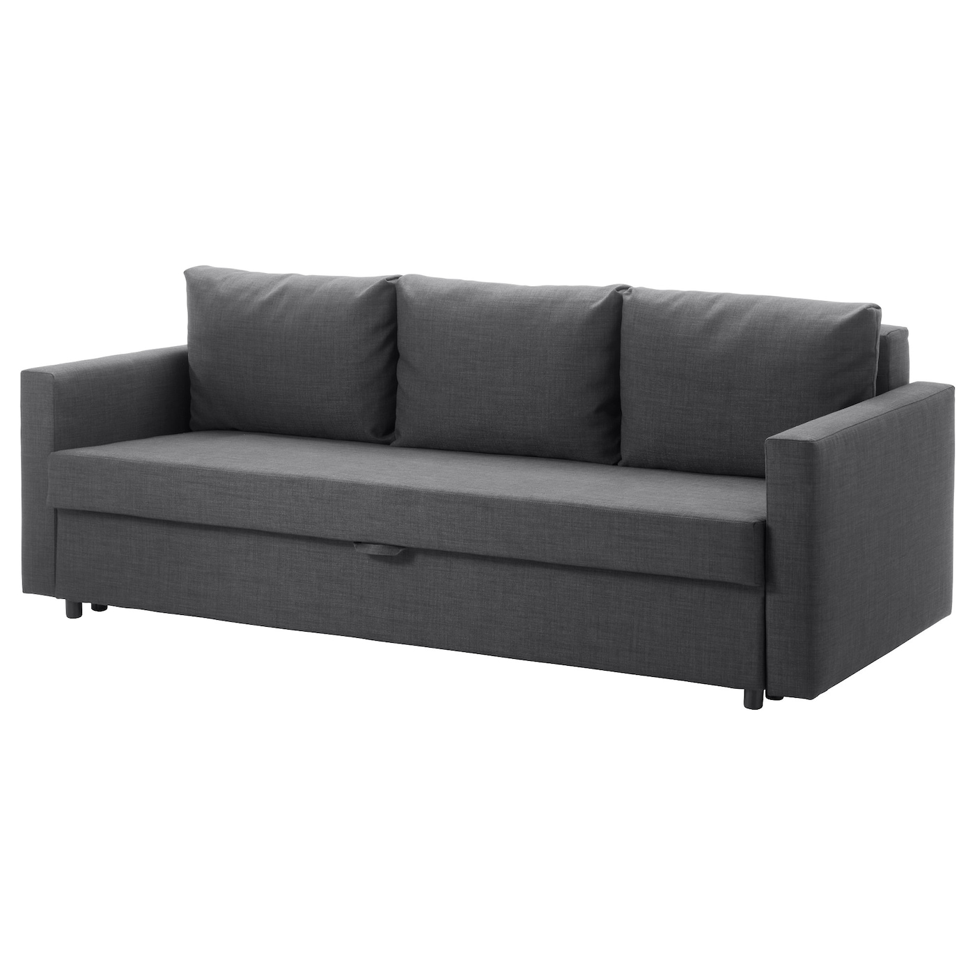 Friheten three seat sofa bed skiftebo dark grey ikea - Clic clac gris anthracite ...