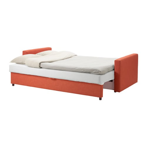 Ikea friheten three seat sofa bed readily converts into a bed