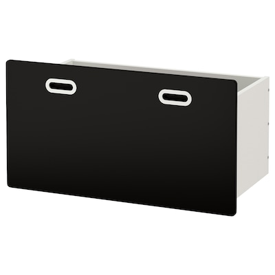 FRITIDS box with blackboard surface anthracite 90 cm 49 cm 48 cm