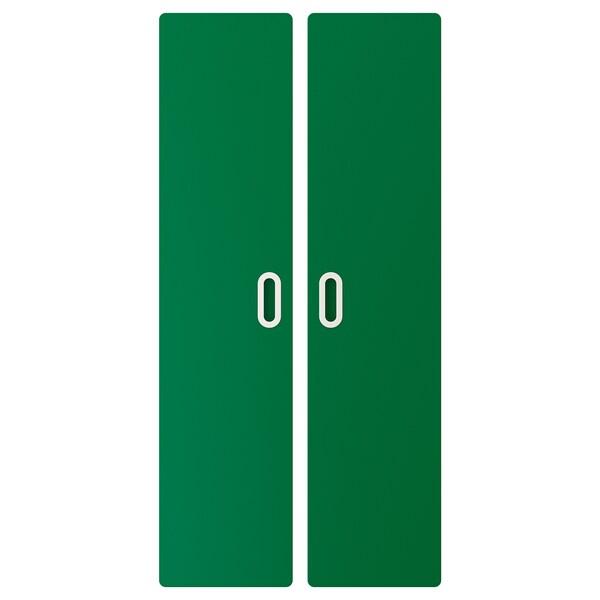 FRITIDS door green 60.0 cm 128 cm 2 pack