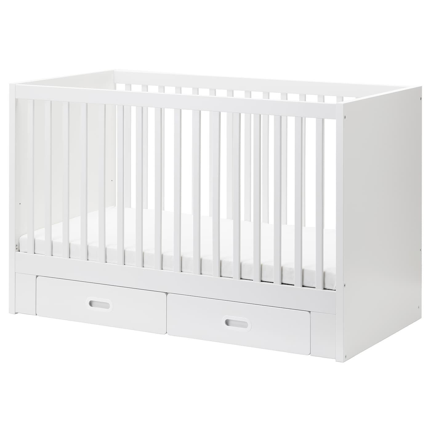 GroB IKEA FRITIDS/STUVA Cot With Drawers The Cot Base Can Be Placed At Two  Different