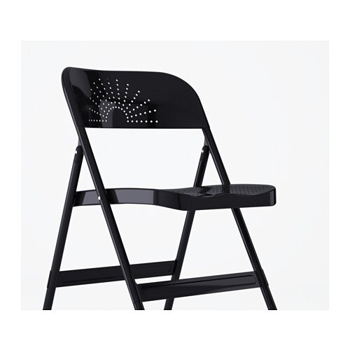 IKEA FRODE folding chair You can fold the chair, so it takes less space when you're not using it.
