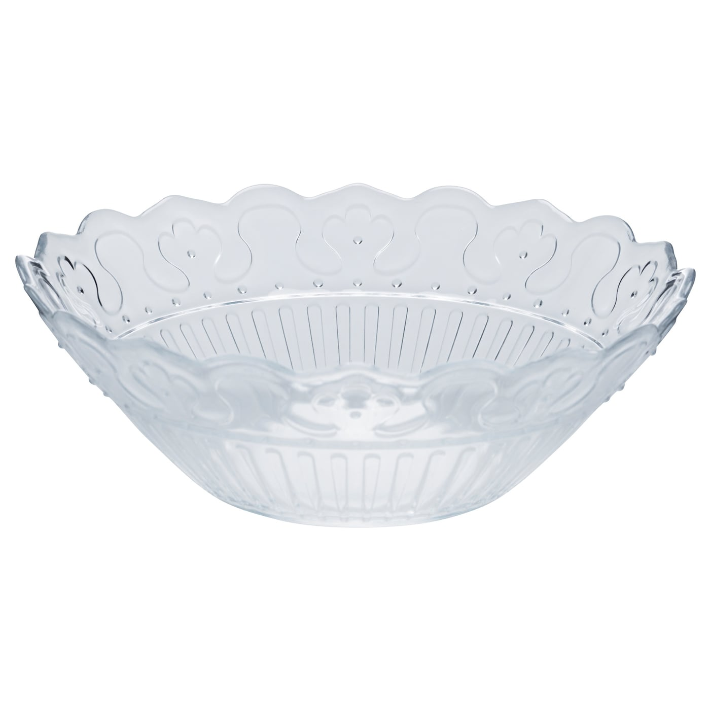IKEA FRODIG bowl Made of tempered glass, which makes the bowl durable and extra resistant to impact.