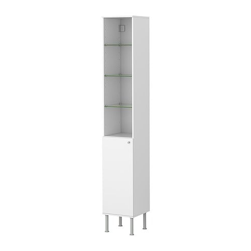 FULLEN High cabinet IKEA Adjustable shelf; adapt spacing according to your personal needs.