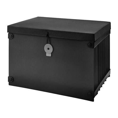 IKEA FULLFÖLJA file box Has 6 pockets that keep your papers organised and make them easier to find.