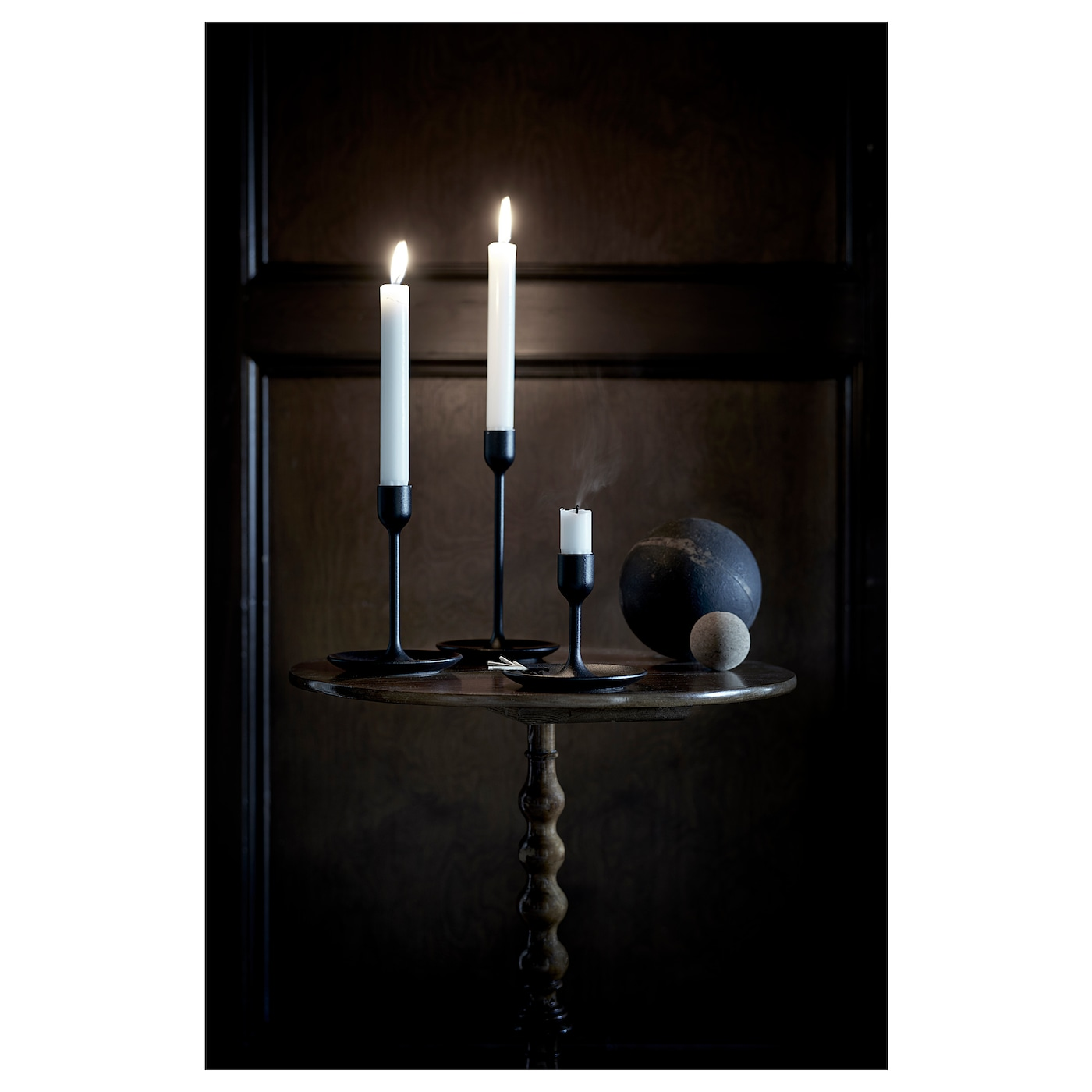 IKEA FULLTALIG candlestick, set of 3