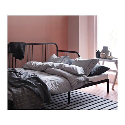 FYRESDAL Day bed frame Black 80×200 cm IKEA