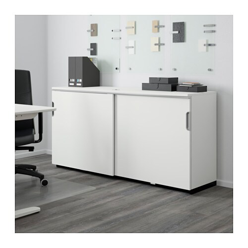 galant cabinet with sliding doors white 160x80 cm ikea. Black Bedroom Furniture Sets. Home Design Ideas