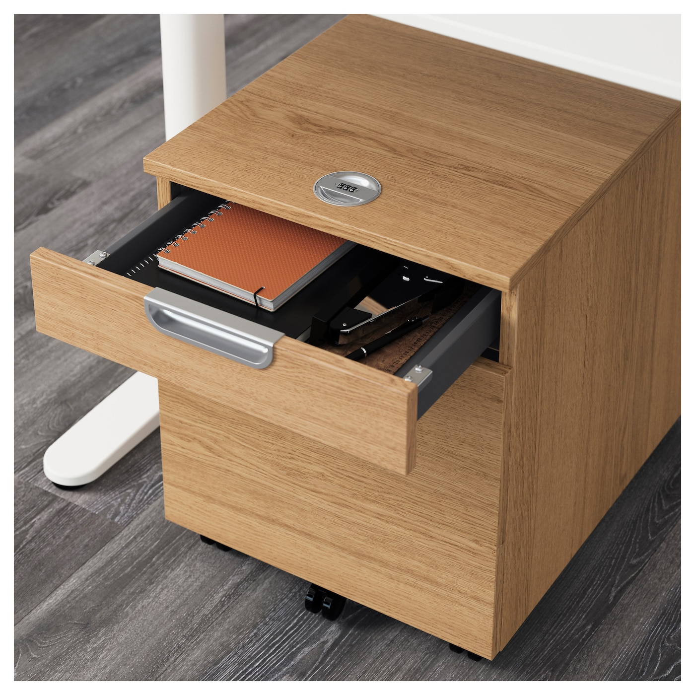 ikea galant file cabinet locked out by galant drawer unit with drop file storage oak veneer