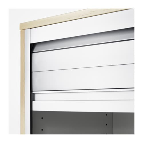 galant roll front cabinet birch veneer 80x120 cm ikea. Black Bedroom Furniture Sets. Home Design Ideas