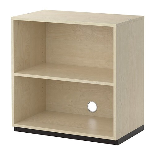 Galant shelf unit birch veneer 80x80 cm ikea - Ikea rangement etagere ...