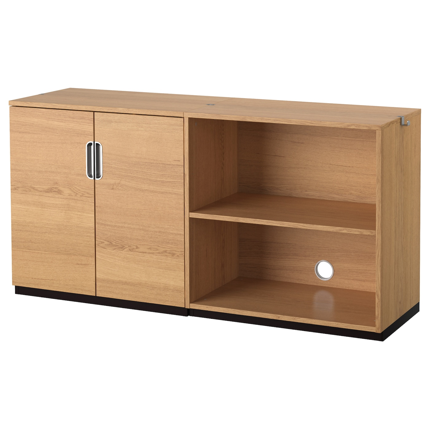 galant storage combination oak veneer 160x80 cm ikea. Black Bedroom Furniture Sets. Home Design Ideas