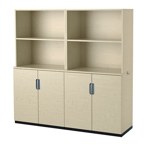 Incroyable IKEA GALANT Storage Combination With Doors Integrated Damper Makes Doors  Close Silently And Gently.