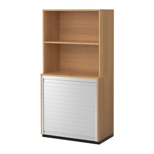 Decoracion De Interiores Cocinas Ikea ~ GALANT Storage combination with roll front Oak veneer 80×160 cm  IKEA