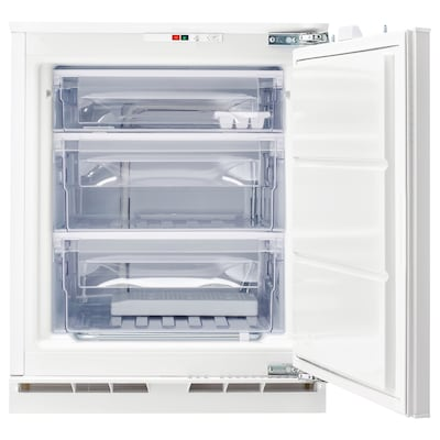 GENOMFRYSA Integrated freezer A+, white, 91 l