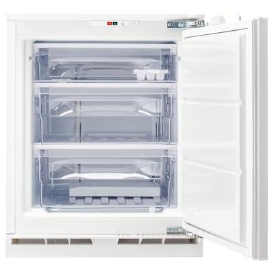 GENOMFRYSA Integrated freezer A+, white, 91 l