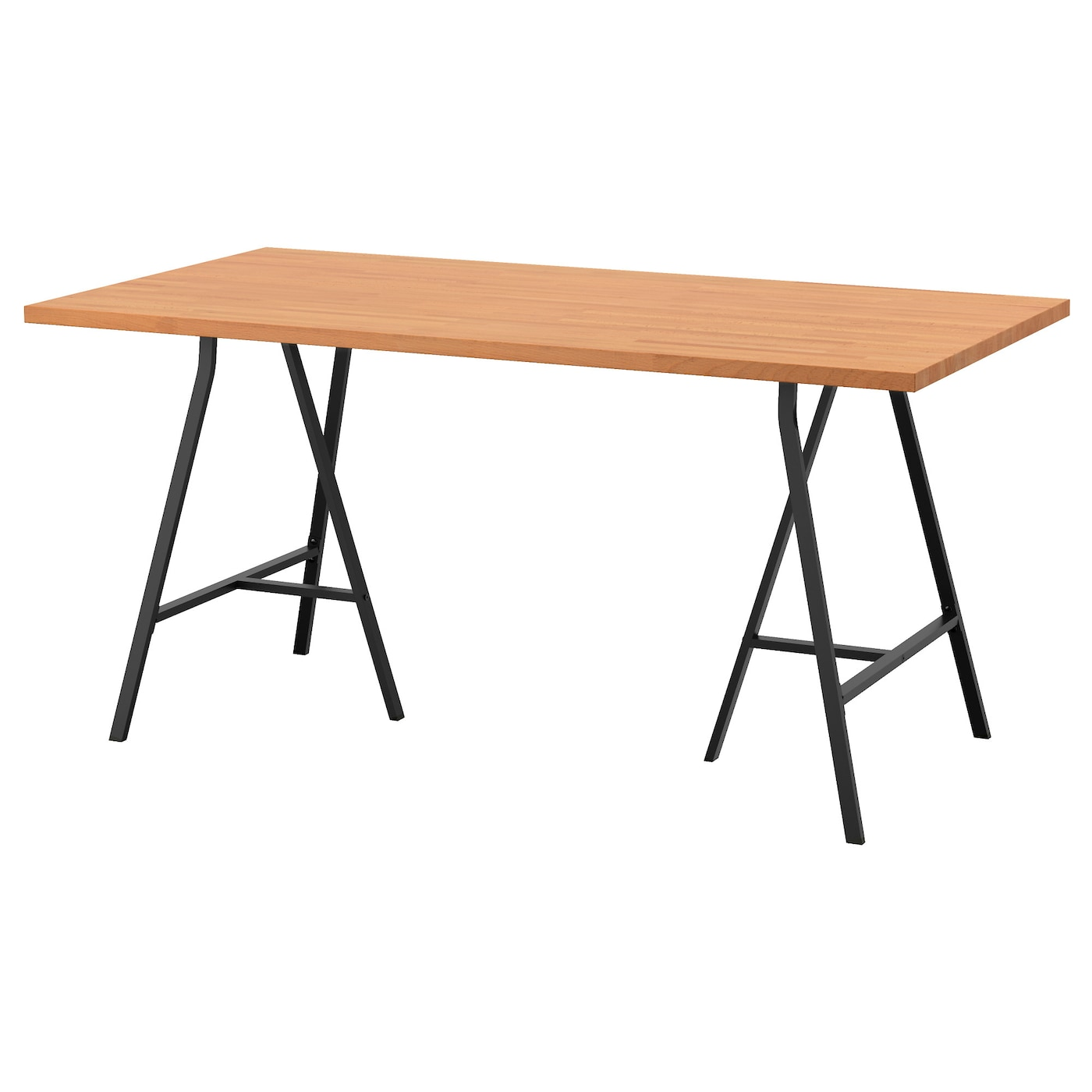 IKEA GERTON/LERBERG table Solid wood is a durable natural material.