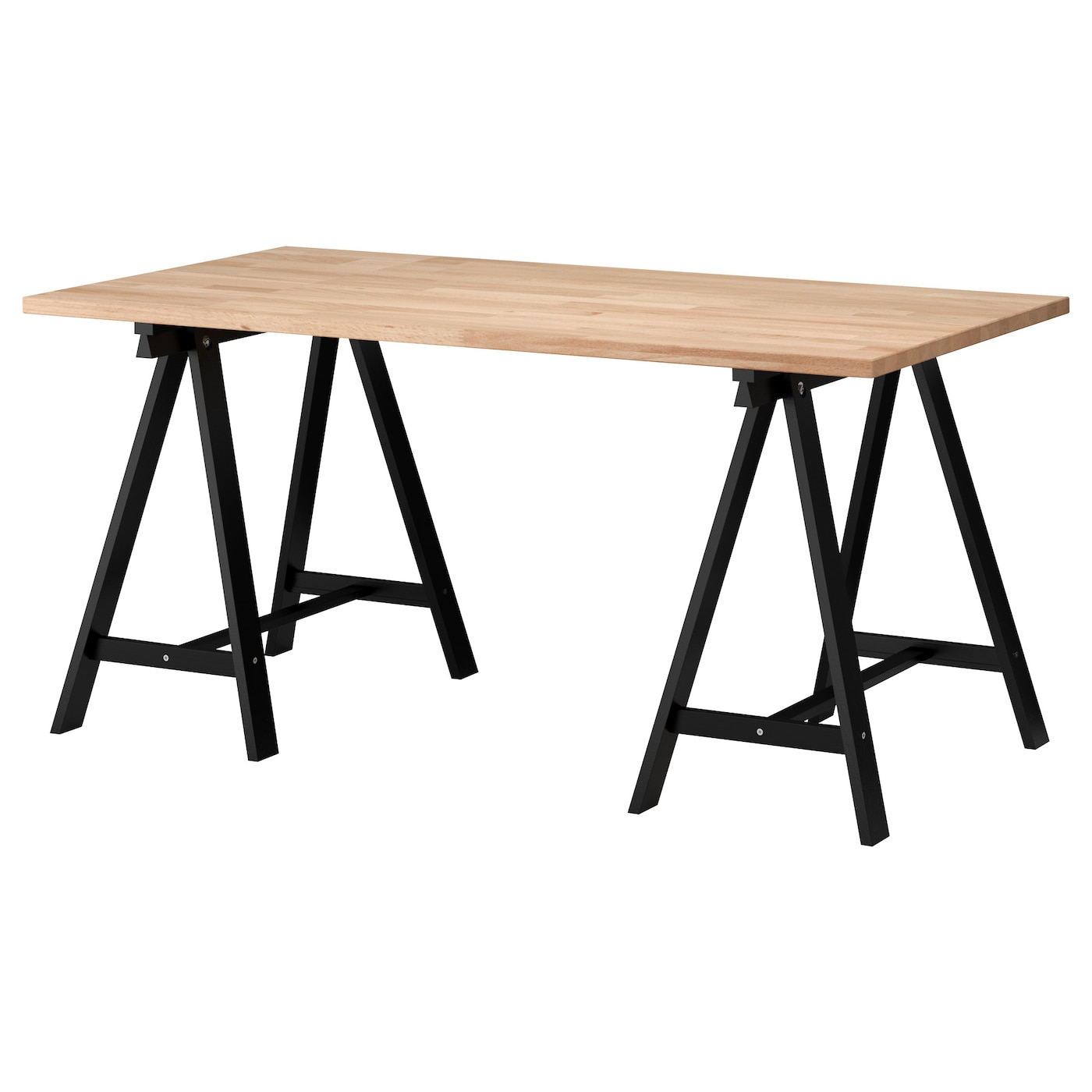 IKEA GERTON/ODDVALD table Solid wood is a durable natural material.