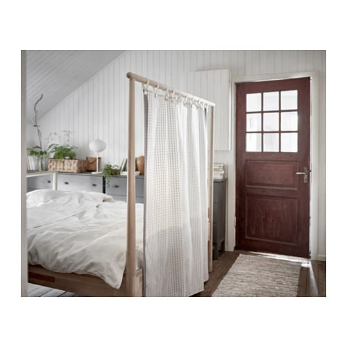 gj ra bed frame birch leirsund standard double ikea. Black Bedroom Furniture Sets. Home Design Ideas