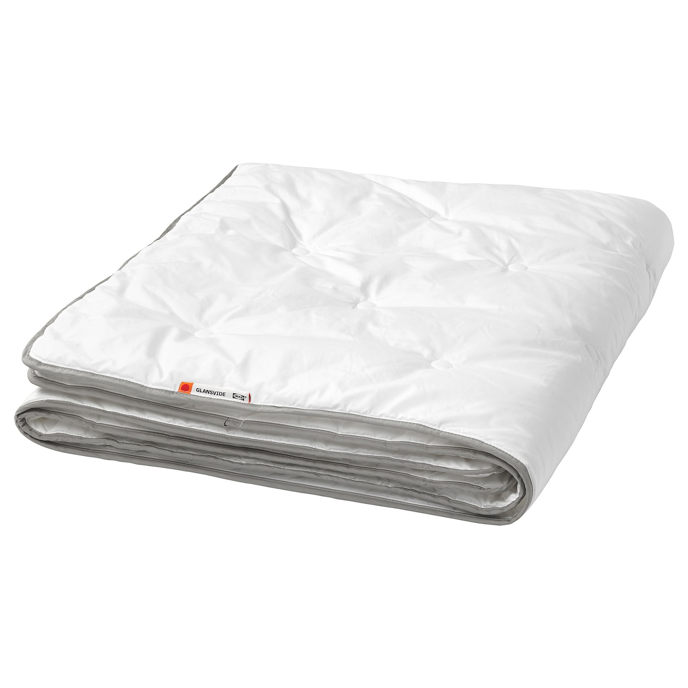 IKEA GLANSVIDE duvet, 7.5 TOG A good choice if you often feel cold while sleeping.
