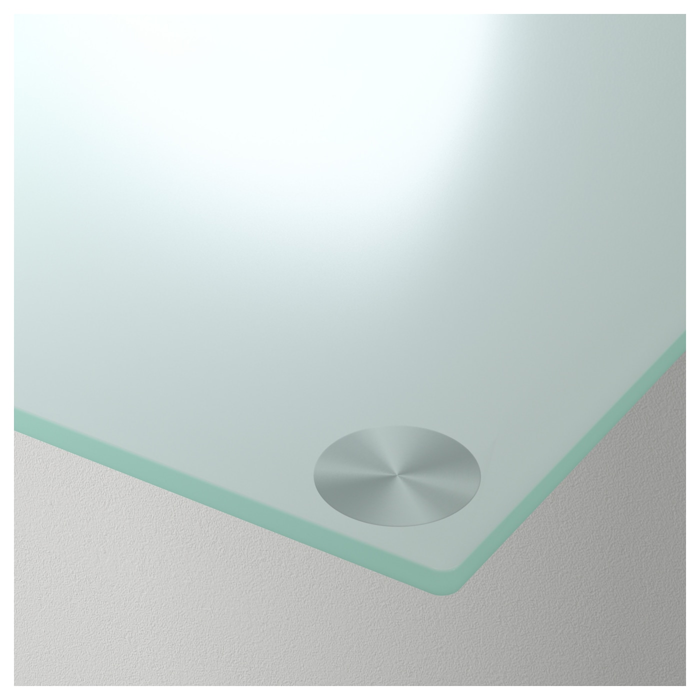 GLASHOLM Table top Glass white 99x52 cm IKEA