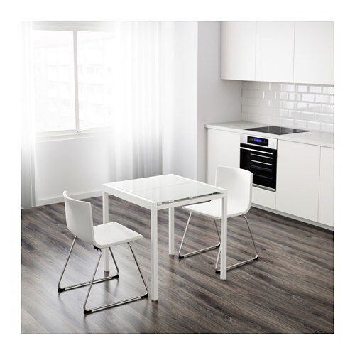 Glivarp Extendable Table White 75 115x70 Cm Ikea