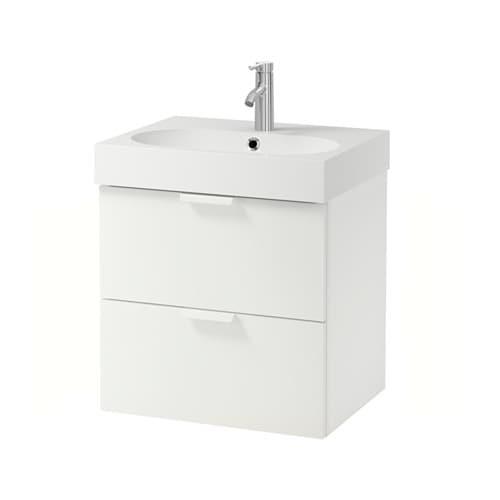 Frisiertisch Ikea Gebraucht ~ IKEA GODMORGON BRÅVIKEN wash stand with 2 drawers