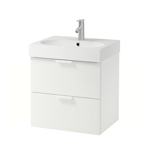 Ikea Aspelund Bett Erfahrungen ~ IKEA GODMORGON BRÅVIKEN wash stand with 2 drawers