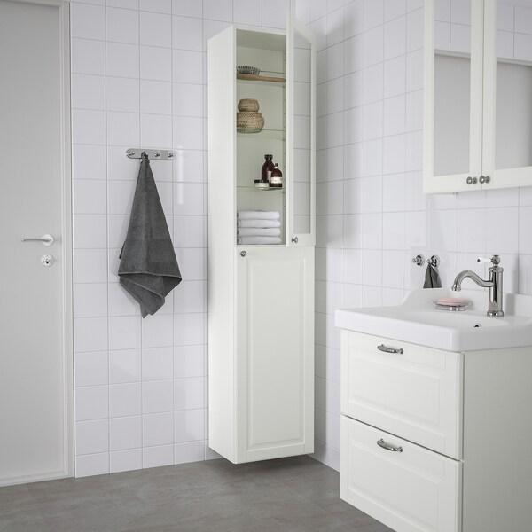 GODMORGON High cabinet, Kasjön white, 40x32x192 cm