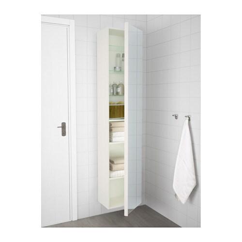 ikea godmorgon high cabinet with mirror door you can mount the door to