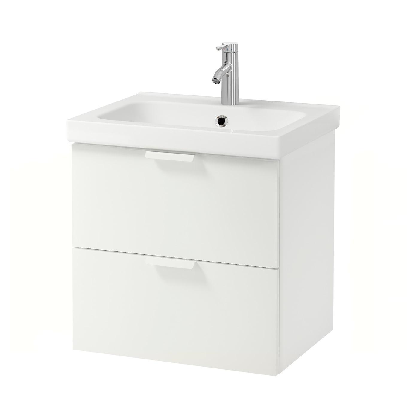 Ikea Frisiertisch Glasplatte ~ IKEA GODMORGON ODENSVIK wash stand with 2 drawers