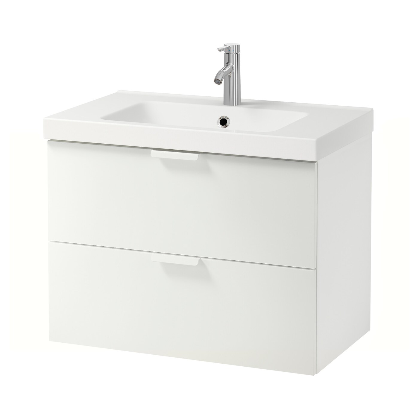godmorgonodensvik wash stand with 2 drawers white 80x49x64 cm ikea - Meuble Lave Main Ikea