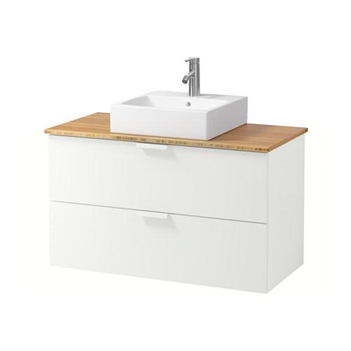 Ikea Bathroom Godmorgon godmorgon/tolken/tÖrnviken wsh-stnd w countrtop 45x45 wsh-bsn