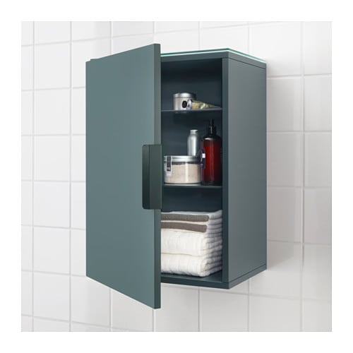 Domsjo Ikea Sink Installation ~ IKEA GODMORGON wall cabinet with 1 door You can mount the door to open