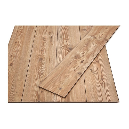 IKEA GOLV laminated flooring Flooring with click system is easy to lay; no adhesive required.