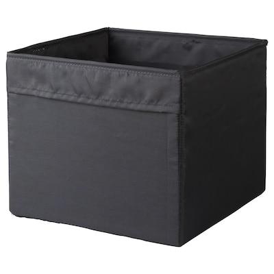 GOPÅN Box, black, 30x30x25 cm
