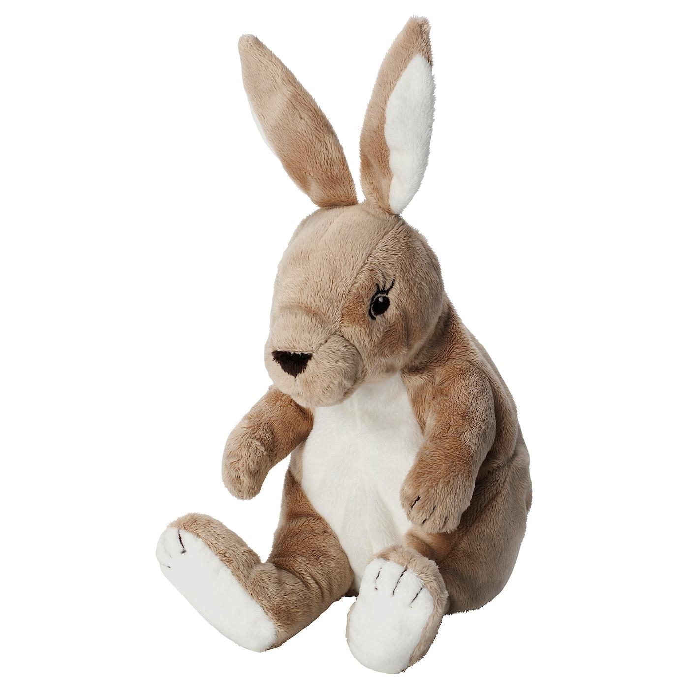 Soft Toys Product : Gosig kanin soft toy beige cm ikea