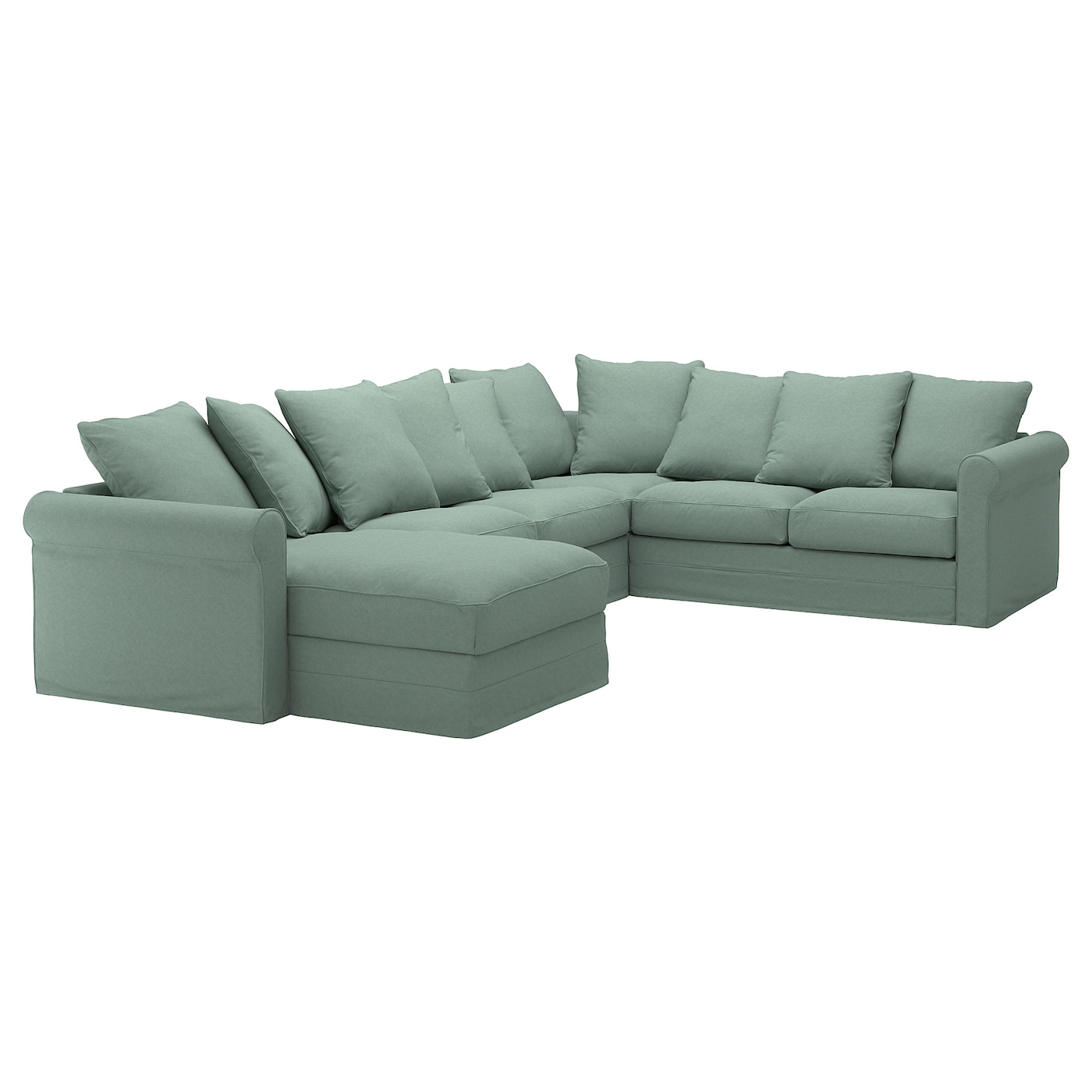 IKEA GRÖNLID corner sofa, 5-seat 10 year guarantee. Read about the terms in the guarantee brochure.