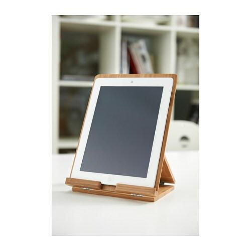 grimar holder for tablet bamboo ikea. Black Bedroom Furniture Sets. Home Design Ideas